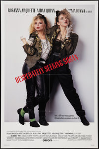 "Desperately Seeking Susan (Orion, 1985). One Sheet (27"" X 41""). Comedy"
