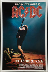 """AC/DC: Let There Be Rock (Warner Brothers, 1982). One Sheet (27"""" X 41""""). Rock and Roll"""