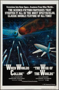 """Movie Posters:Science Fiction, When Worlds Collide/The War of the Worlds Combo (Paramount, 1977).One Sheet (27"""" X 41"""") Flat Folded. Science Fiction.. ..."""