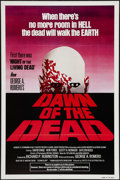 """Movie Posters:Horror, Dawn of the Dead (United Film Distribution, 1978). One Sheet (27"""" X 41"""") Flat Folded, Red Style. Horror.. ..."""