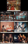 "Movie Posters:Rock and Roll, The Rocky Horror Picture Show (20th Century Fox, 1975). Lobby Cards(7) 11"" X 14""). Rock and Roll.. ... (Total: 7 Items)"