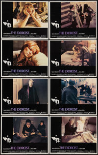"""The Exorcist (Warner Brothers, 1974). Lobby Card Set of 8 (11"""" X 14""""). Horror. ... (Total: 8 Items)"""