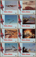 """Movie Posters:War, Battle of Britain (United Artists, 1969). Lobby Card Set of 8 (11""""X 14""""). War.. ... (Total: 8 Items)"""