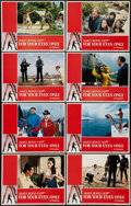 """Movie Posters:James Bond, For Your Eyes Only (United Artists, 1981). Lobby Card Set of 8 (11"""" X 14""""). James Bond.. ... (Total: 8 Items)"""