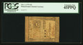 Colonial Notes:Pennsylvania, Pennsylvania October 1, 1773 15s PCGS Extremely Fine 45PPQ.. ...
