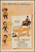 """Movie Posters:Sports, The Great John L. (United Artists, 1945). One Sheet (27"""" X 41""""). Sports.. ..."""