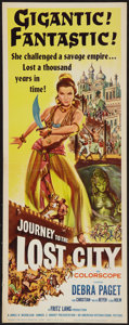 """Movie Posters:Adventure, Journey to the Lost City (American International, 1960). Insert(14"""" X 36""""). Adventure.. ..."""