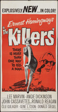 """Movie Posters:Crime, The Killers (Universal, 1964). Three Sheet (41"""" X 81""""). Crime.. ..."""