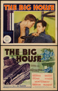 "Movie Posters:Drama, The Big House (MGM, 1930). Title Lobby Card and Lobby Card (11"" X14""). Drama.. ... (Total: 2 Items)"