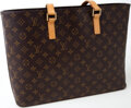 Luxury Accessories:Bags, Heritage Vintage: Louis Vuitton Monogram Canvas Luco Tote Bag. ...