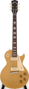 Musical Instruments:Electric Guitars, 1956 Gibson Les Paul All Gold Solid Body Electric Guitar, Serial # 6 3145....