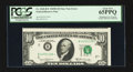 Error Notes:Shifted Third Printing, Fr. 2020-B* $10 1969B Federal Reserve Note. PCGS Gem New 65PPQ.. ...