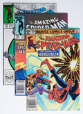Modern Age (1980-Present):Superhero, The Amazing Spider-Man Group (Marvel, 1983-88) Condition: AverageNM-.... (Total: 17 Comic Books)