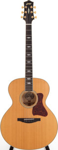 Musical Instruments:Acoustic Guitars, 1999 Collings SJ Natural Acoustic Guitar, Serial # 5079. ...
