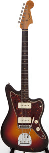 Musical Instruments:Electric Guitars, 1961 Fender Jazzmaster Sunburst Solid Body Electric Guitar, Serial# 62895....