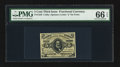 Fractional Currency:Third Issue, Fr. 1239 5¢ Third Issue PMG Gem Uncirculated 66 EPQ.. ...