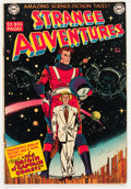 Golden Age (1938-1955):Science Fiction, Strange Adventures #9 (DC, 1951) Condition: VG/FN....