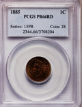 Proof Indian Cents, 1885 1C PR66 Red PCGS....