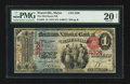 National Bank Notes:Maine, Waterville, ME - $1 1875 Fr. 383 The Merchants NB Ch. # 2306. ...