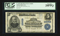 National Bank Notes:Virginia, Gloucester, VA - $5 1902 Plain Back Fr. 605 The First NB Ch. #10658. ...
