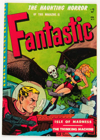 Fantastic #8 (Youthful Magazines, 1952) Condition: VG/FN