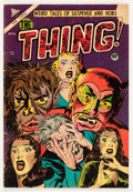 Golden Age (1938-1955):Horror, The Thing! #10 (Charlton, 1953) Condition: GD....
