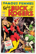 Golden Age (1938-1955):Science Fiction, Famous Funnies #209 (Eastern Color, 1953) Condition: GD/VG....
