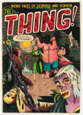 Golden Age (1938-1955):Horror, The Thing! #5 (Charlton, 1952) Condition: VG....