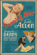 "Movie Posters:Mystery, Dancing Man (Pyramid, 1934). One Sheet (27"" X 41""). Mystery.. ..."