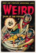 Golden Age (1938-1955):Horror, Weird Tales of the Future #6 (Aragon, 1953) Condition: GD/VG....