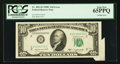 Error Notes:Attached Tabs, Fr. 2013-B $10 1950C Federal Reserve Note. PCGS Gem New 65PPQ.. ...