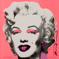 ANDY WARHOL (American, 1928-1987) Marilyn (Castelli graphics invitation), 1981 Silkscreen 12 x 12