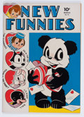 Golden Age (1938-1955):Funny Animal, New Funnies #73 File Copy (Dell, 1943) Condition: VF-....