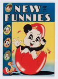 Golden Age (1938-1955):Funny Animal, New Funnies #75 File Copy (Dell, 1943) Condition: VF-....