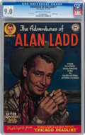 Golden Age (1938-1955):Western, Adventures of Alan Ladd #1 (DC, 1949) CGC VF/NM 9.0 Off-white towhite pages....