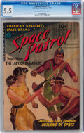 Golden Age (1938-1955):Science Fiction, Space Patrol #1 (Ziff-Davis, 1952) CGC FN- 5.5 Off-white to white pages....