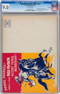 Golden Age (1938-1955):Western, Red Ryder Victory Patrol #nn (Dell, 1943) CGC VF/NM 9.0 Off-whitepages....