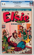 Golden Age (1938-1955):Funny Animal, Elsie the Cow #1 Crowley Copy pedigree (D.S. Publishing, 1949) CGCNM 9.4 Cream to off-white pages....