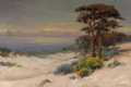 Fine Art - Painting, American:Modern  (1900 1949)  , BERTHA STRINGER LEE (American, 1869-1937). Carmel Beach,1911. Oil on canvas. 20 x 30 inches (50.8 x 76.2 cm). Signed an...