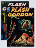 Golden Age (1938-1955):Science Fiction, Flash Gordon Group (Dell, 1952-53).... (Total: 2 Comic Books)
