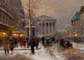 Fine Art - Painting, European:Other , EDOUARD-LÉON CORTÈS (French, 1882-1969). La Madeleine. Oilon canvas. 13-1/4 x 18-1/4 inches (33.7 x 46.4 cm). Signed lo...