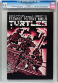 Modern Age (1980-Present):Alternative/Underground, Teenage Mutant Ninja Turtles #1 First Printing (Mirage Studios, 1984) CGC NM/MT 9.8 White pages....