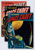 Golden Age (1938-1955):Science Fiction, Tom Corbett Space Cadet Group (Dell, 1952-54) Condition: AverageVG+.... (Total: 10 Comic Books)