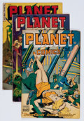 Golden Age (1938-1955):Science Fiction, Planet Comics Group (Fiction House, 1949-53).... (Total: 5 ComicBooks)