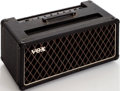 Musical Instruments:Amplifiers, PA, & Effects, Late 1960s/Early 1970s Vox AC50 Black Guitar Amplifier Head, Serial# 02984....