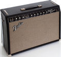 Musical Instruments:Amplifiers, PA, & Effects, Circa 1965 Fender Deluxe Reverb Black Guitar Amplifier, Serial #A05483....