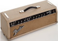 Musical Instruments:Amplifiers, PA, & Effects, 1964 Fender Tremolux White Amplifier Head , Serial # A00860....