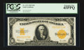 Large Size:Gold Certificates, Fr. 1173 $10 1922 Gold Certificate PCGS Extremely Fine 45PPQ.. ...