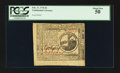Colonial Notes:Continental Congress Issues, Continental Currency February 17, 1776 $2 PCGS About New 50.. ...