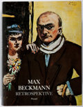 Books:Art & Architecture, Max Beckmann. Retrospektive. Prestel, 1984. First edition, first printing. Mild rubbing to extremities and a small s...